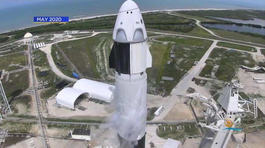 SpaceX launch marks start of ISS crew rotation flights on ...