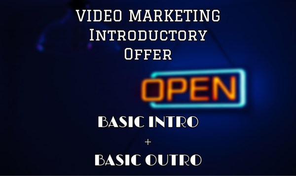 video marketing introductory offer