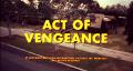Act of Vengeance