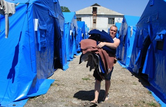 Over 24,000 Ukrainian refugees remain in Russia's temporary asylums