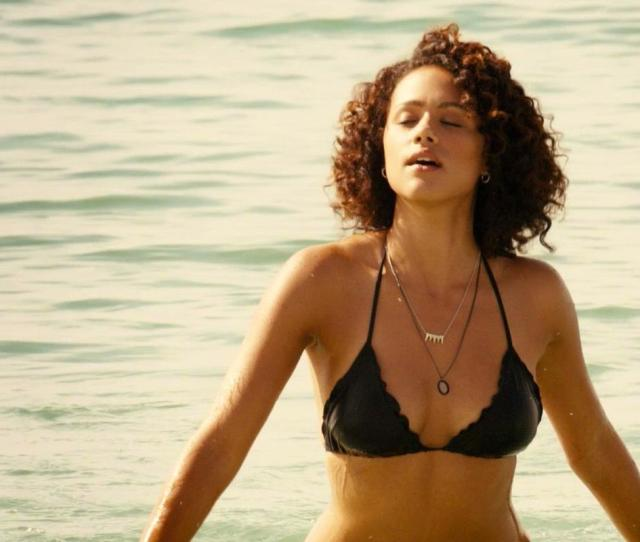 Nathalie Emmanuel Sexy Michelle Rodriguez Sexy Furious Seven 2015