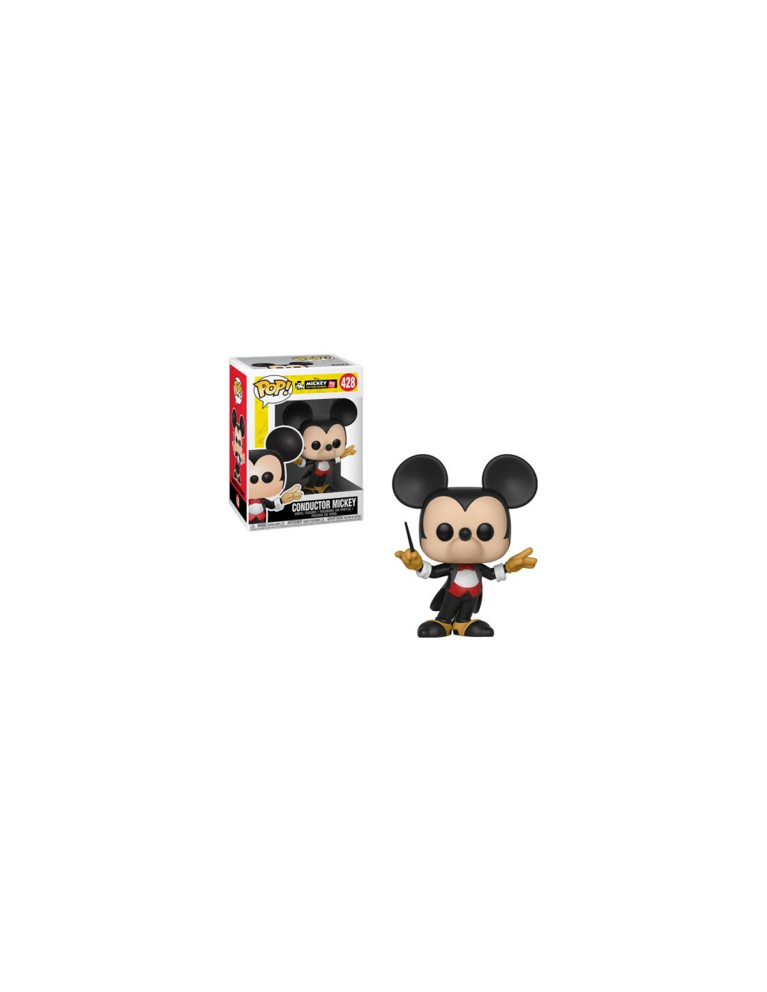Funko Pop Mickey 90 Years Conductor Mickey