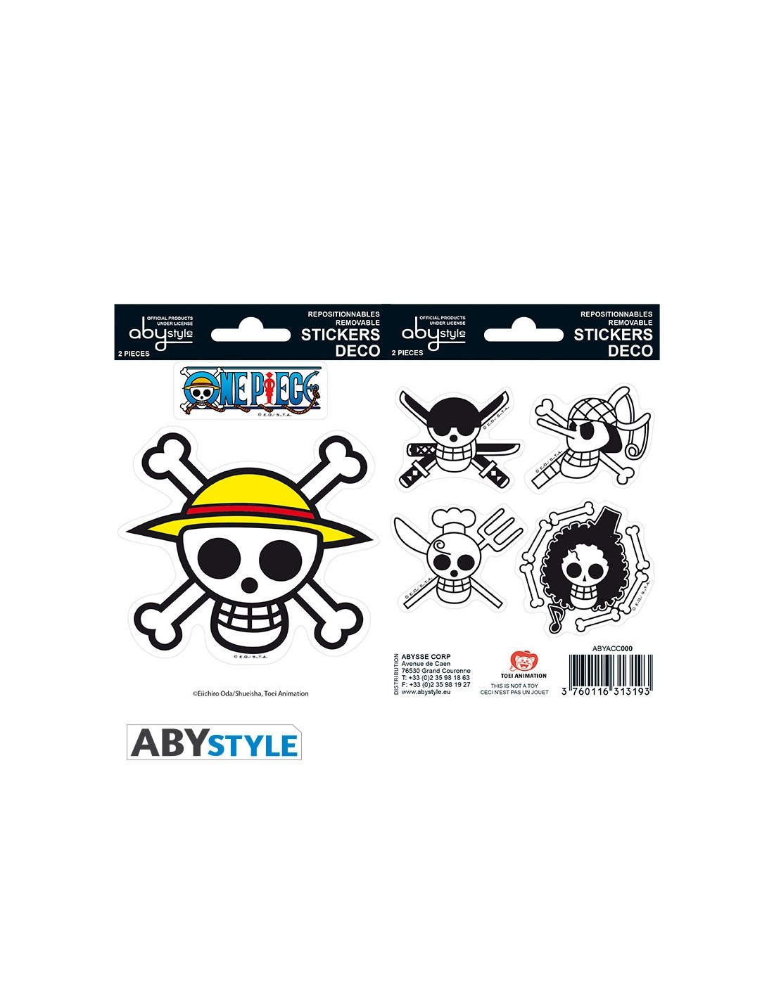 Stickers One Piece Pirates