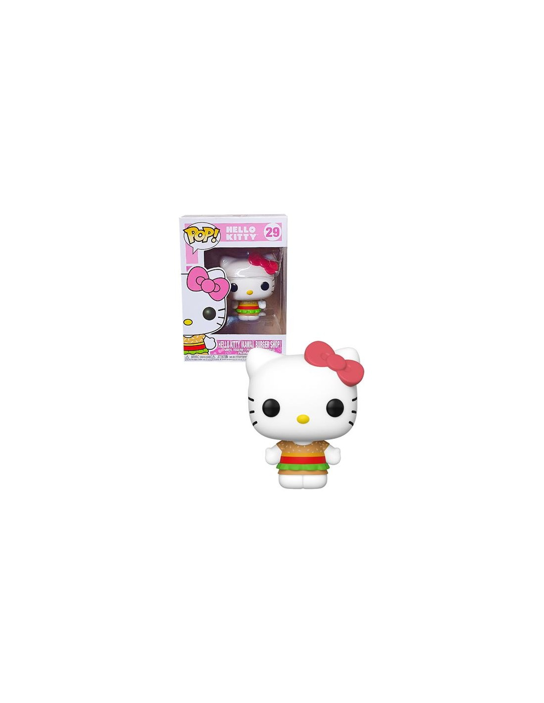Funko Pop Hello Kitty Kawaii Burger Shop