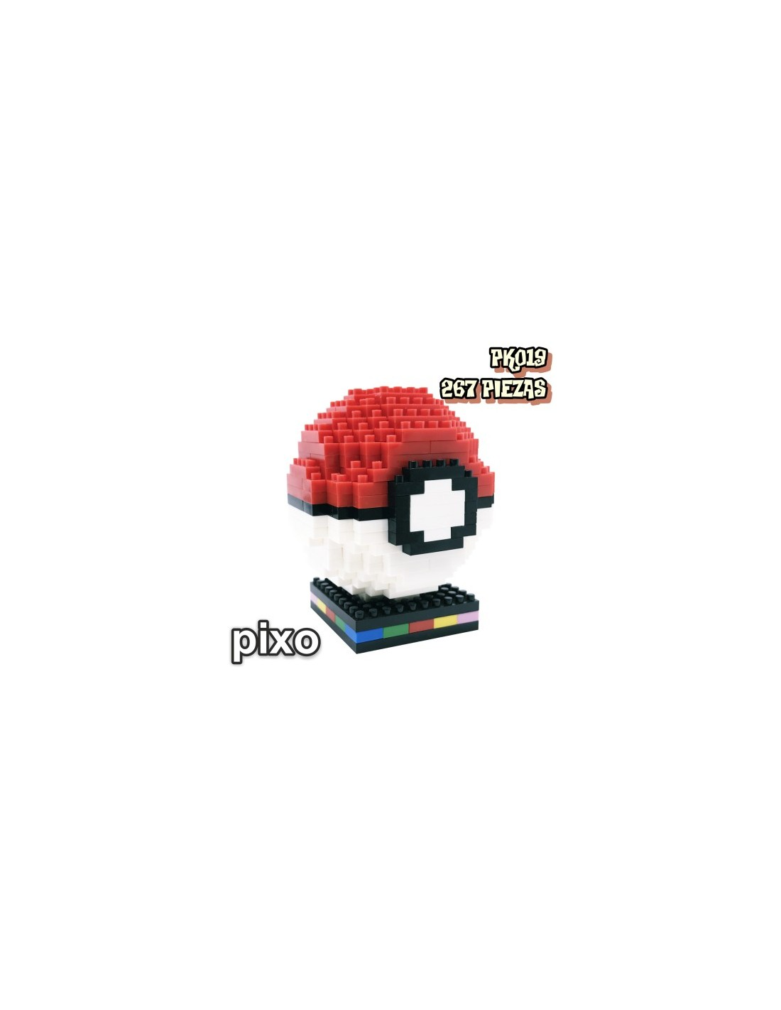 Figura Pixo Pokemon Pokeball