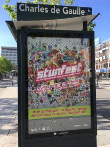 Affiche du Stunfest à Rennes