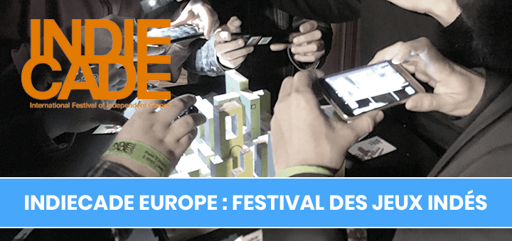 IndieCade Europe 2018 : Festival International des jeux indépendants