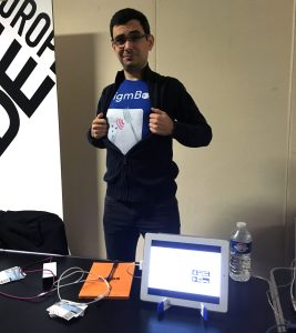 Show & Tell de EnigmBox à l'IndieCade Europe 2017