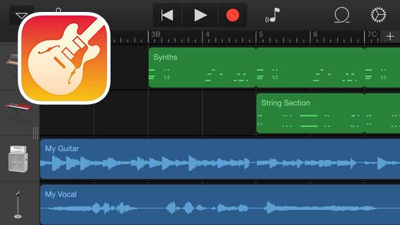Garage Band sur iPad, l'outil de création musicale