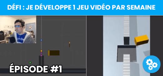 [Défi] Je crée un jeu vidéo par semaine - Semaine #1