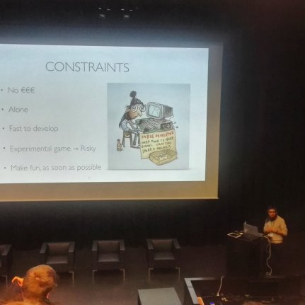 Ma conférence à l'Indie Garden Assembly 2018