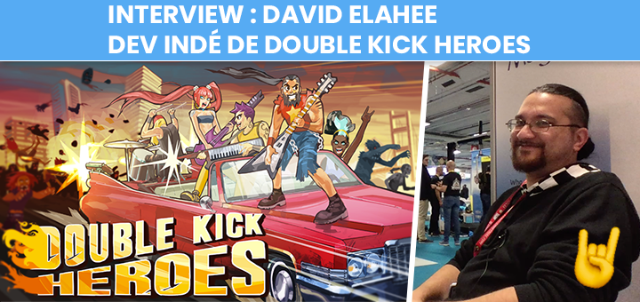 Interview de David Elahee - Headbang Club - Double Kick Heroes