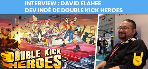 Interview de David Elahee - Headbang Club - Double Kick Heroes