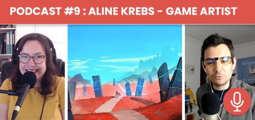 Podcast #9 - Aline Krebs : Game Artist