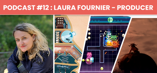 Podcast #12 – Laura Fournier : Producer Chez Wild Sheep Studio