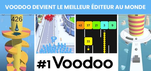 L'éditeur Français De Jeux Mobiles Voodoo Devient Le Meilleur Au Monde (avant Facebook, Instagram Et Snapchat)