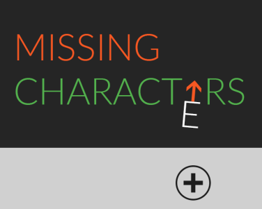 Ludum Dare 45 - Missing Characrters