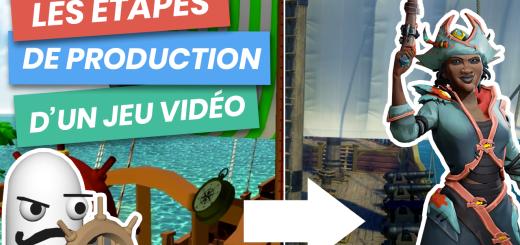 etapes production jeu video
