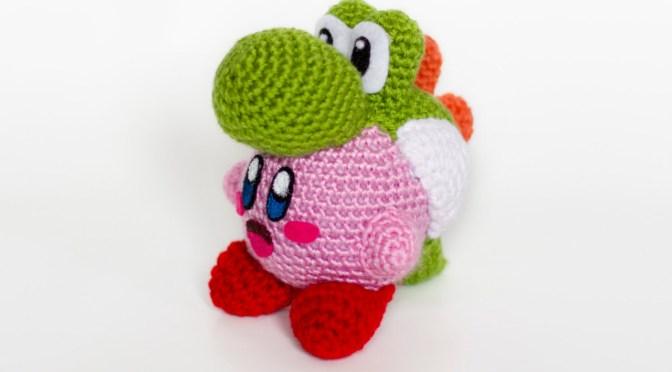 Crochet Yoshi Kirby Amigurumi