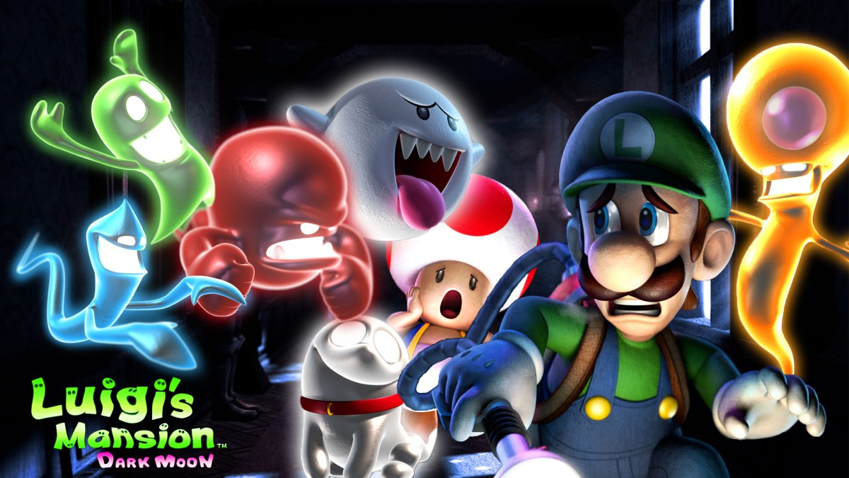 Brentalfloss - Luigi's Mansion: Dark Moon WITH LYRICS