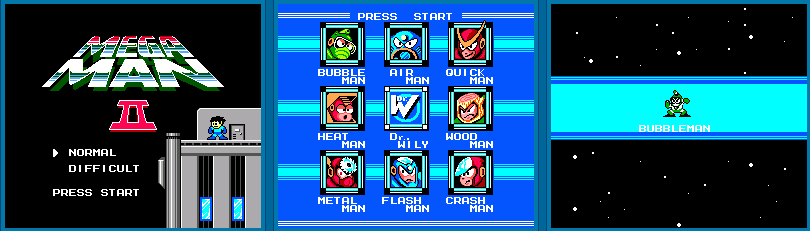 Megaman 2 Recreated From Scratch on Sega Master System