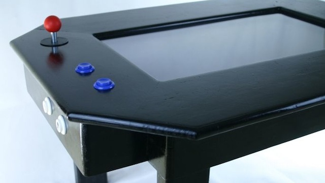 Here's Your Weekend DIY: Make a Retro Gaming Table!