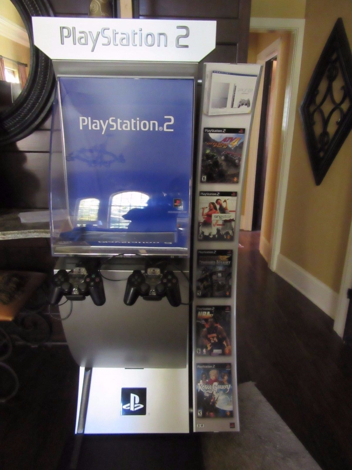 playstation 2 kiosk, ps2 kiosk
