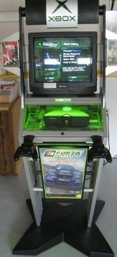 xbox kiosk, xbox store display