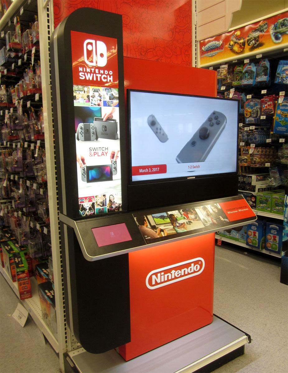 nintendo switch kiosk