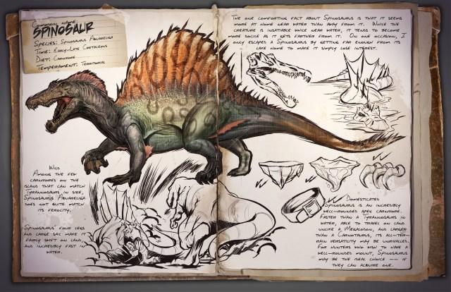ARK: Survival Evolved Spinosaurus