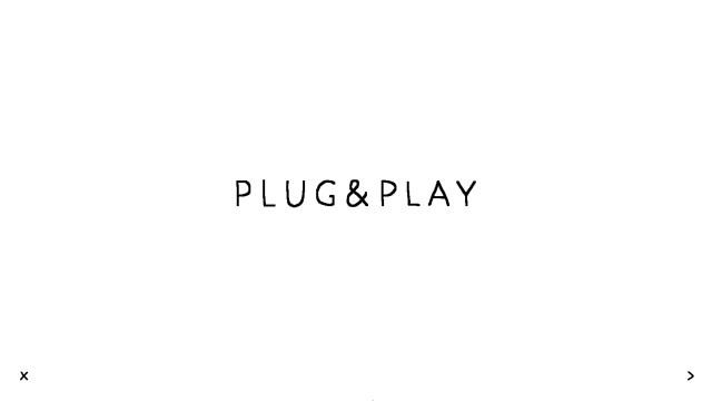 plug & play title screen