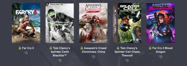 Humble Ubisoft Bundle