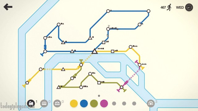 Mini Metro Advanced Map
