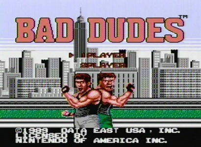 Bad Dudes facts
