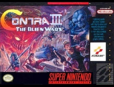 Contra III The Alien Wars facts
