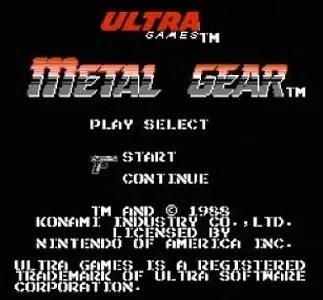 Metal Gear facts