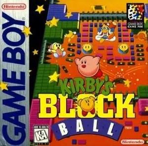 Kirby's Block Ball facts