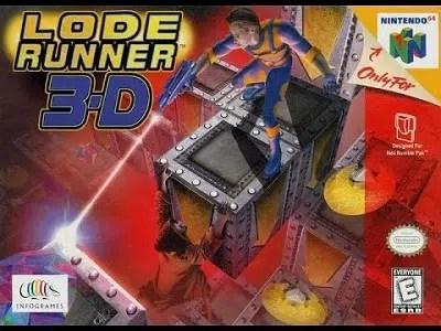 Lode Runner 3-D facts