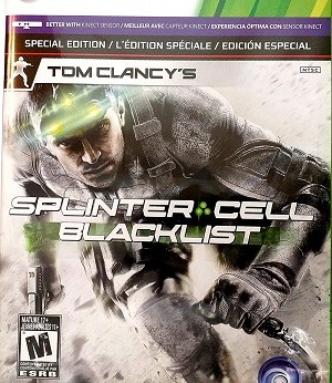 Tom Clancy's Splinter Cell Blacklist facts