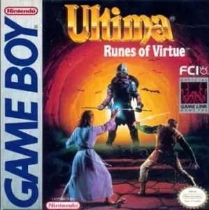 Ultima Runes of Virtue facts