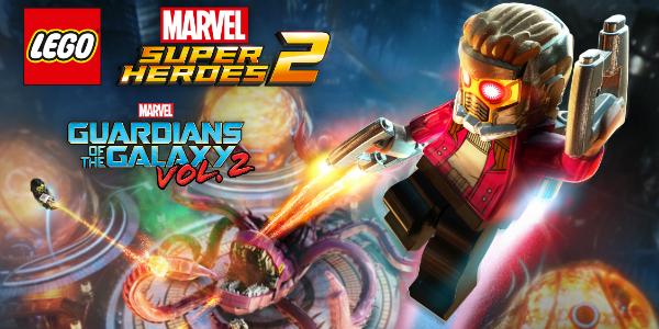 LEGO Marvel Super Heroes 2 Guardiani della Galassia banner
