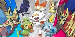 Super Smash Bros. Pokémon Spada Scudo banner