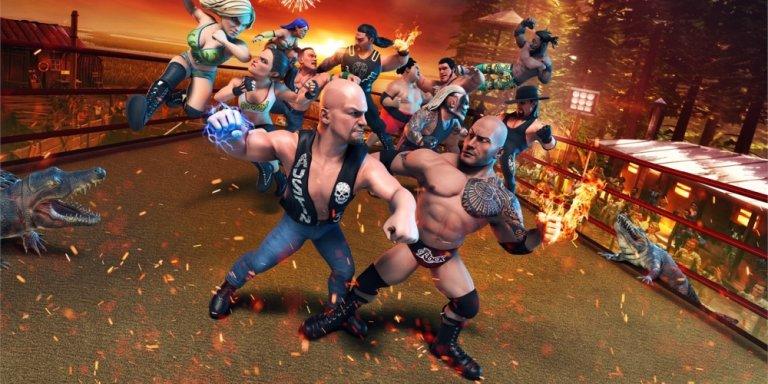 WWE 2K Battlegrounds banner