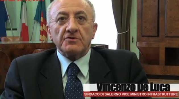 De Luca e il Crescent nella puntata di Report a settembre