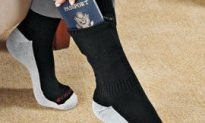 Someone Get Dr. Glock A Pair Of These Pocket Socks!