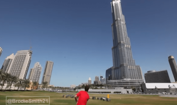 Dubai Frisbee Trick Shots – Brodie Smith