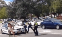 Naked Guy Gives Cops All They Can Handle