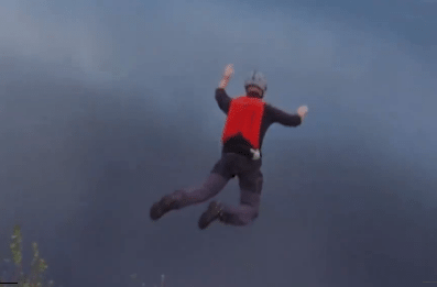 Base Jumper Has Parachute Malfunction, Somehow Lives to Tell the Tale