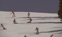 Coed Naked Skiing is Actually a Real Thing [NSFW]