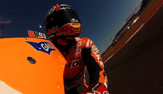 MotoGP Go-Pro Video is Awesome